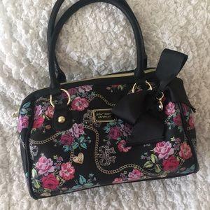 Betsey Johnson Floral Hand Bag
